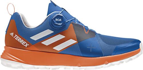 Adidas - Terrex Agravic Hommes Montagne chaussure de course (gris/jaune) - EU 44 - UK 9,5
